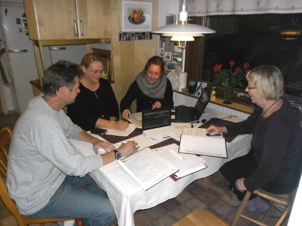 Styrelsemöte oktober 2012